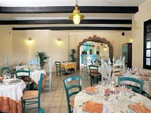 il ristorante dell\'hotel Poseidonia tortolì Sardegna